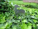 Metall Gartensticker Galgo